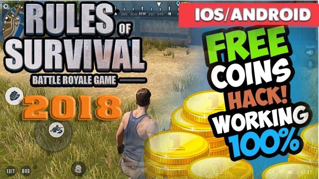 hack rules of survival account