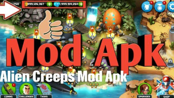 Alien Creeps TD Hack (2014) (Android) (iOS)