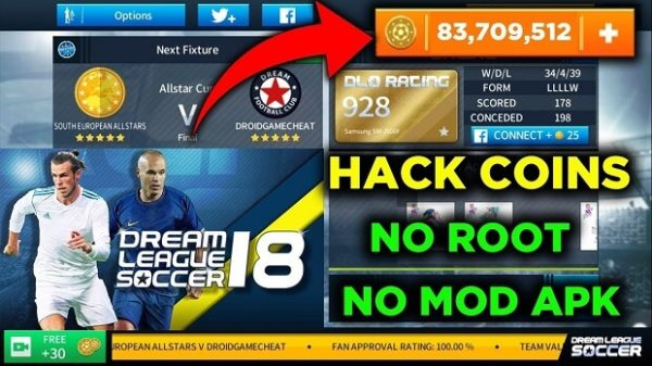 Download For Free Dream League Soccer Hack & Cheats Tool | Get Unlimited Coins and Money